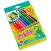 JOLLY X-BIG Farbstifte 12 Stück in 12 Farben sortiert