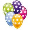 30 Ballons Pünktchen Ø von 28 – 30 cm