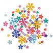 """Schmucksteine Blumen"""" 200 Stück, Größen und Farben sortiert"""""""
